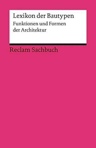 Lexikon der Bautypen | © Reclam Verlag