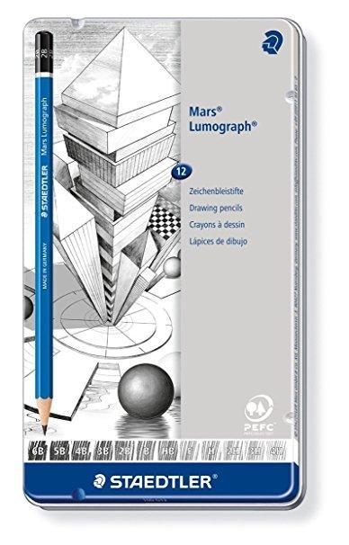 Bleistifte von Staedler fürs Architekturstudium | Vorgestellt auf Architektur-studieren.info