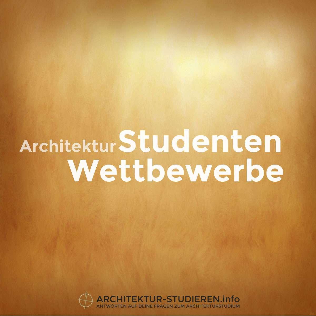 Studentenwettbewerbe architektur for Berlin architektur studieren