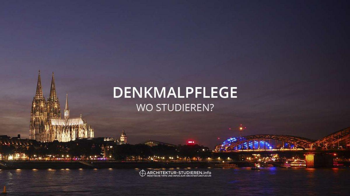 Denkmalpflege: Wo studieren? | © Anett Ring, Architektur-studieren.info