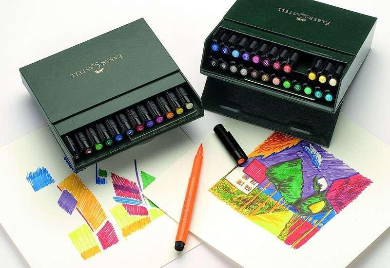 Artist-Pen | Tuschestifte für das Architekturstudium
