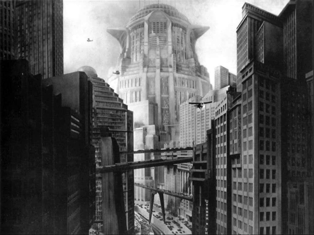 Filmarchitektur: Metropolis | Bild: flickr