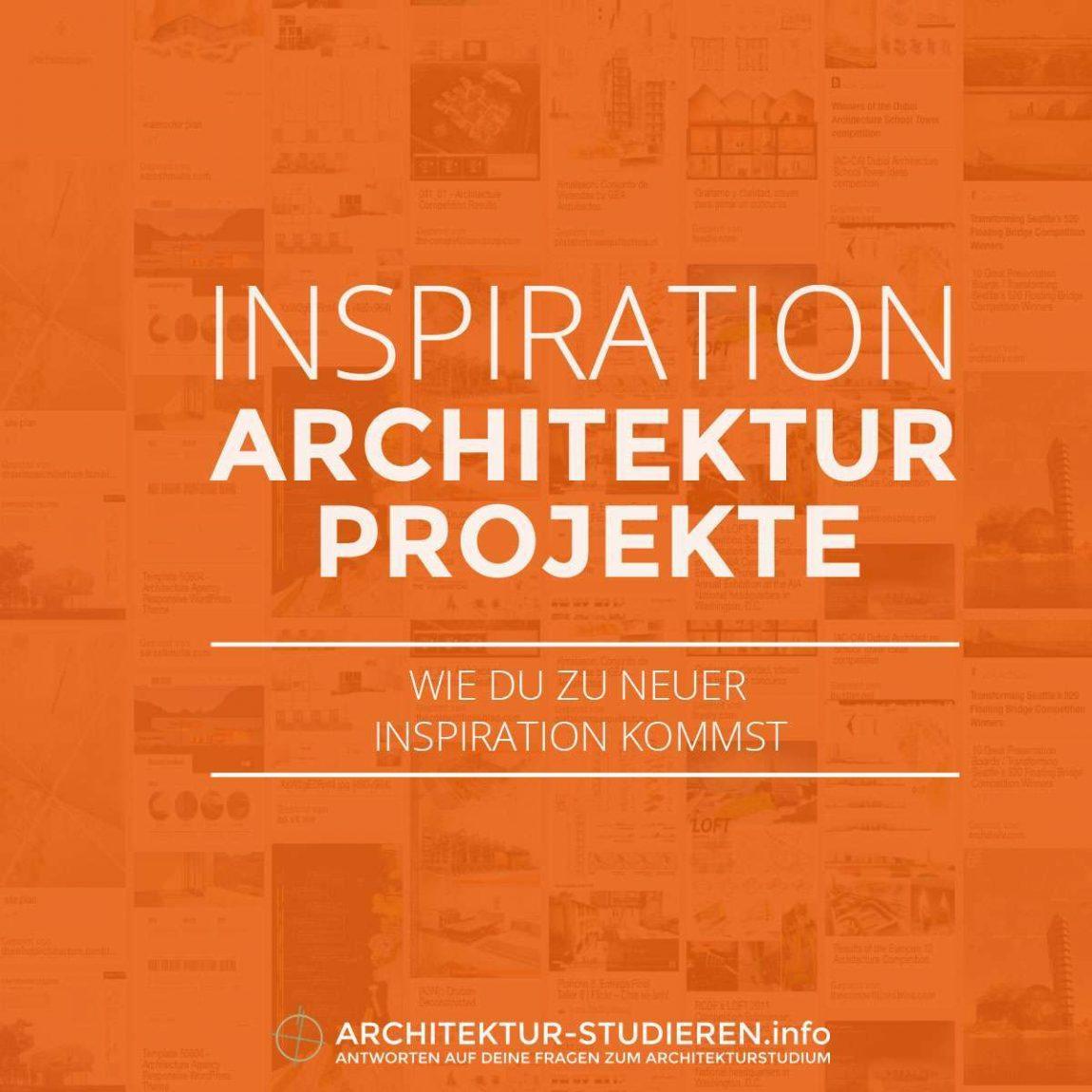 Inspiration für deine Entwurfs-Projekte | Architektur-studieren.info