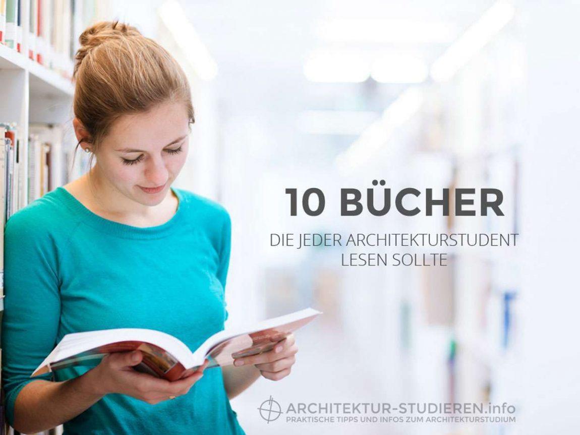 10 Bücher, die jeder Architekturstudent lesen sollte! | © Anett Ring, Architektur-studieren.info