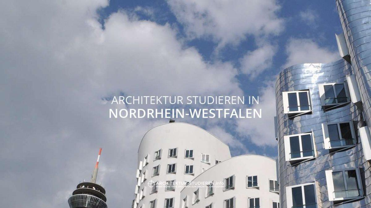 Architektur studieren in Nordrhein Westfalen Bachelor und Master ...