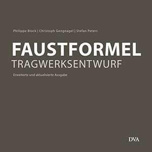 Faustformel Tragwerksentwurf | © DVA Verlag