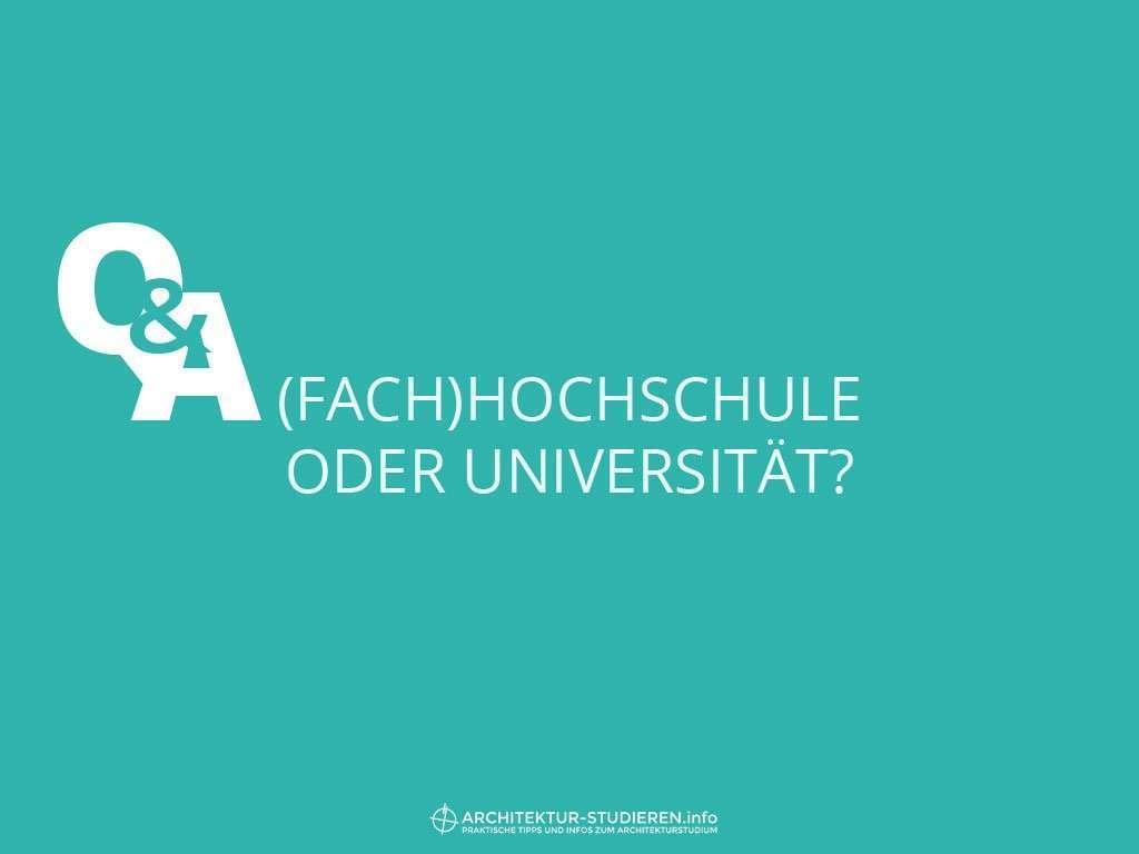 Hochschule oder Uni für Architekturstudium? | © Anett Ring, Architektur-studieren.info