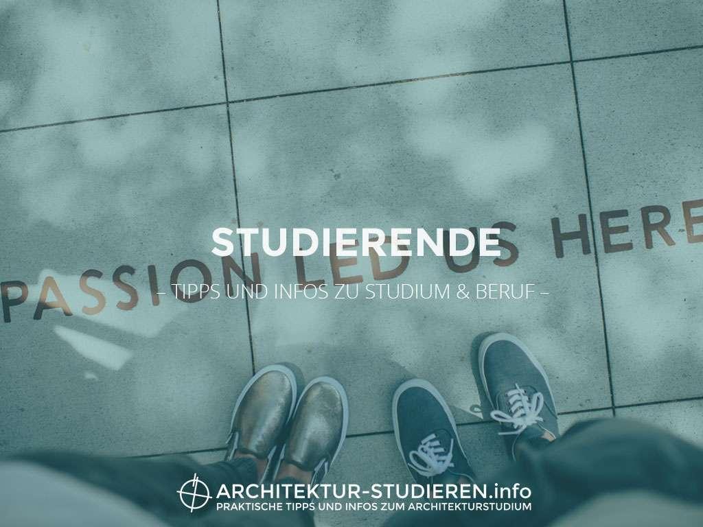 Studierende architektur for Architektur studieren info