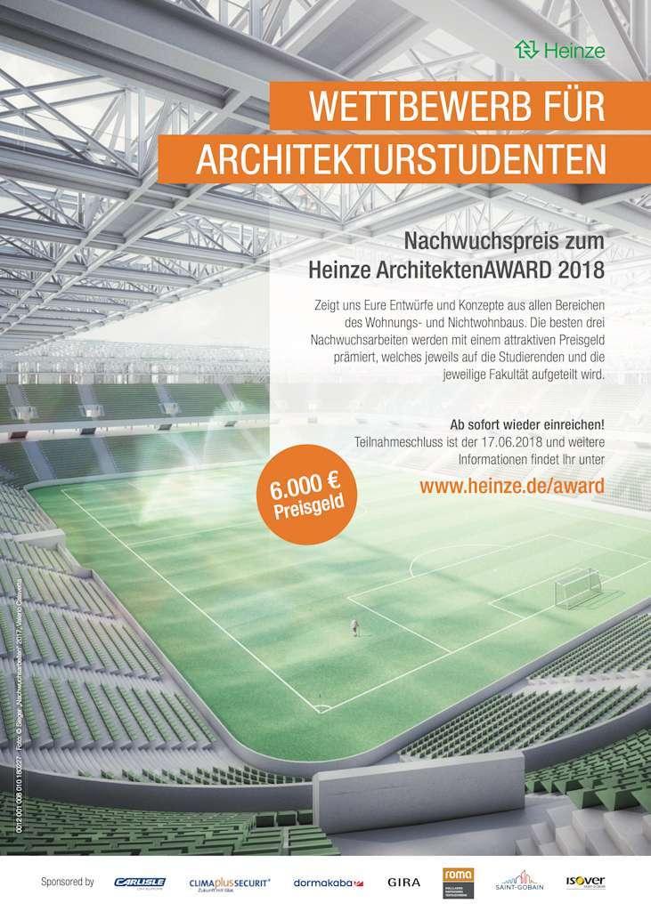 Heinzeaward sonderpreis studierende 2018 architektur for Architektur studieren info