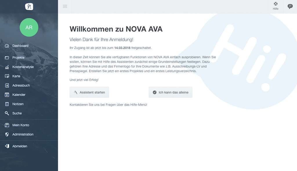 Was ist ava inkl nova ava software test architektur for Wo architektur studieren