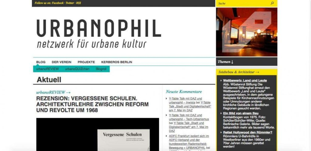 Screenshot Urbanophil.net