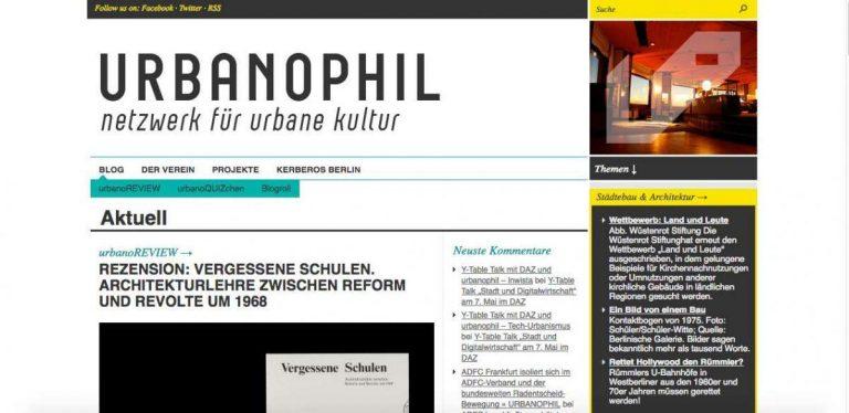 Screenshot Urbanophil.net