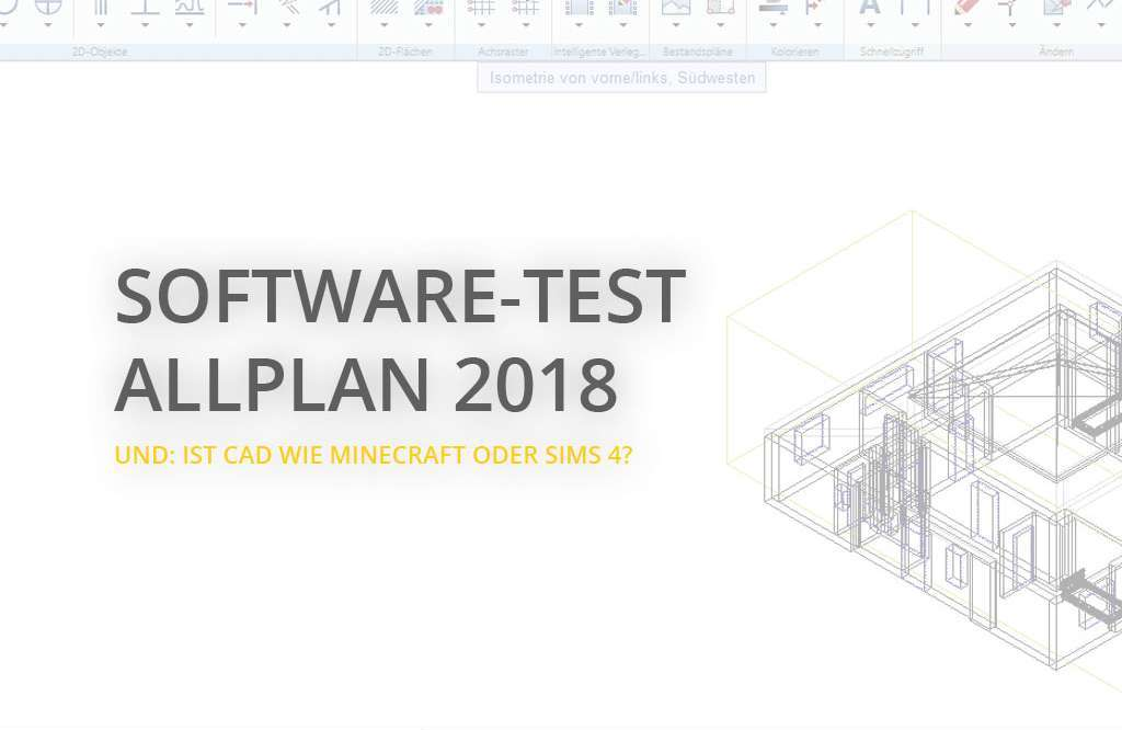 Allplan 2018 CAD-Software-Test | Architektur-studieren.info