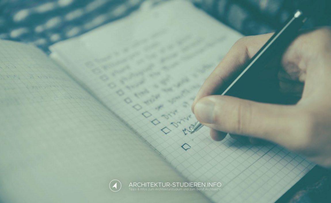 Wie du dich wirklich optimal auf das Architekturstudium vorbereiten kannst. | Architektur-studieren.info