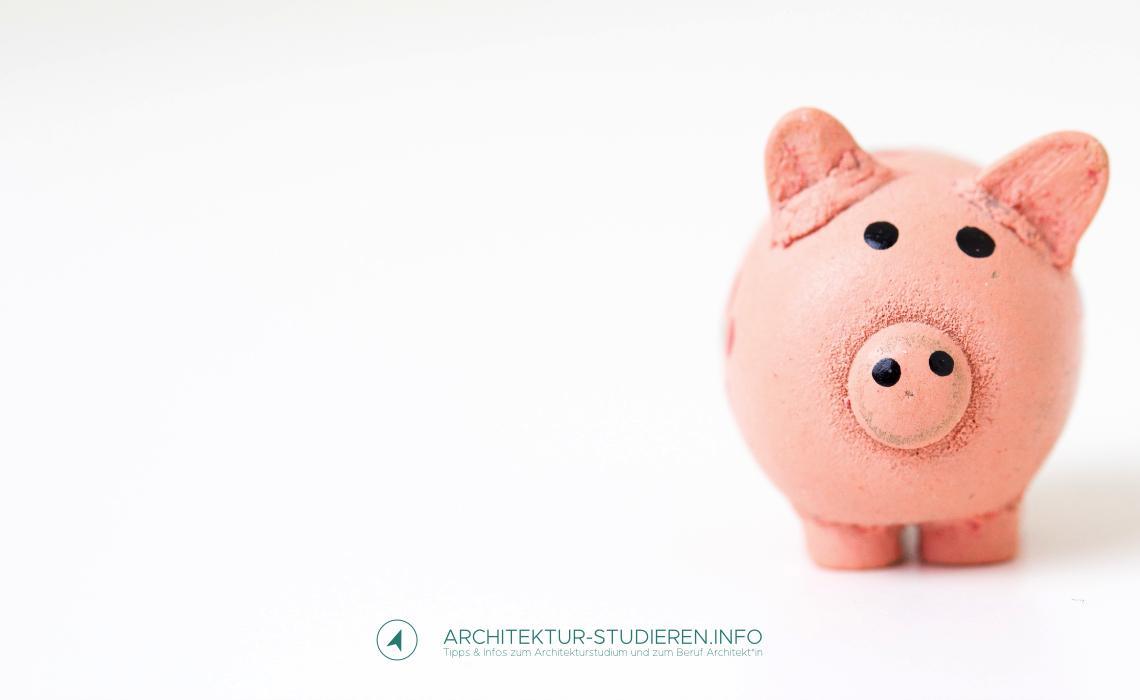 Tipps zum Geld sparen im Architekturstudium | Architektur-studieren.info