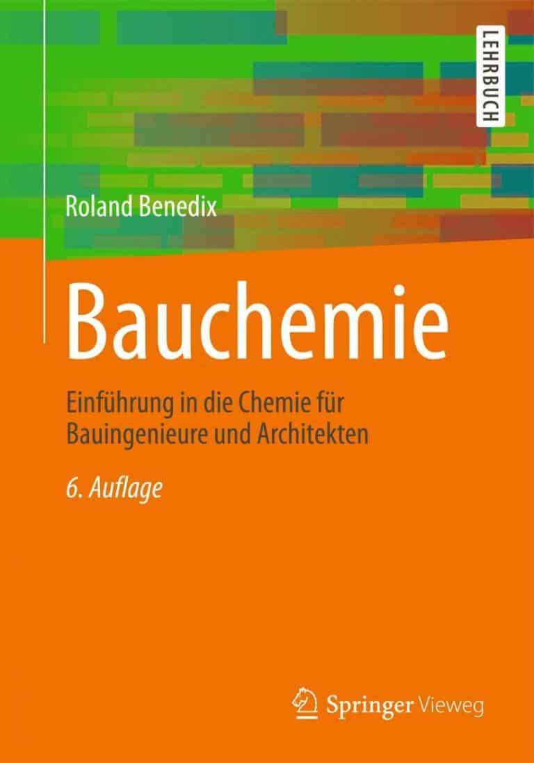 Bauchemie | © Springer Vieweg Verlag, vorgestellt auf Architektur-studieren.de
