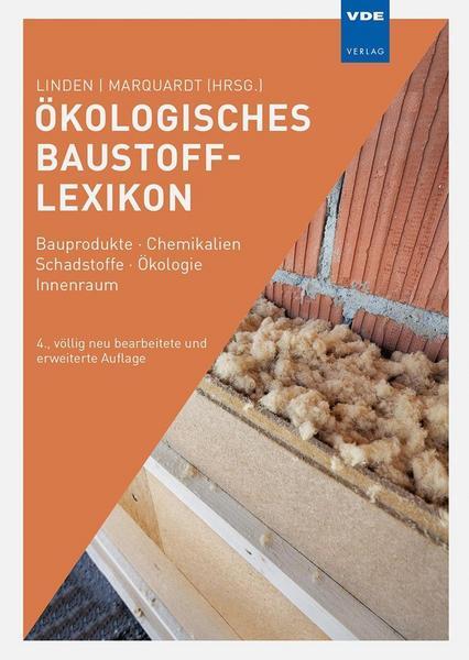 Ökologisches Baustofflexikon | © VDE-Verlag, vorgestellt auf Architektur-studieren.info