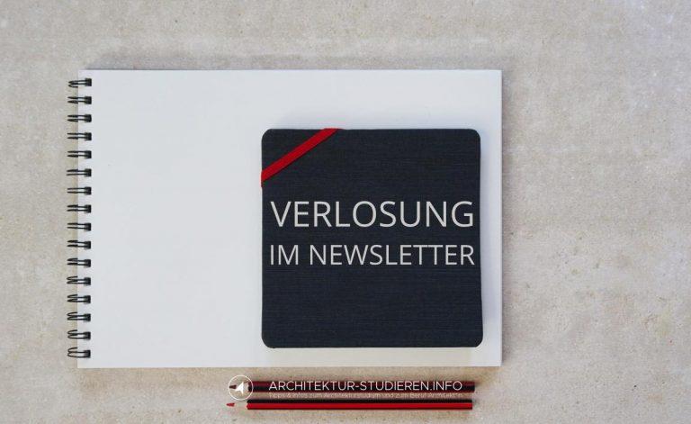 Verlosung Skizzenbücher fürs Architekturstudium | © Anett Ring, Architektur-studieren.info