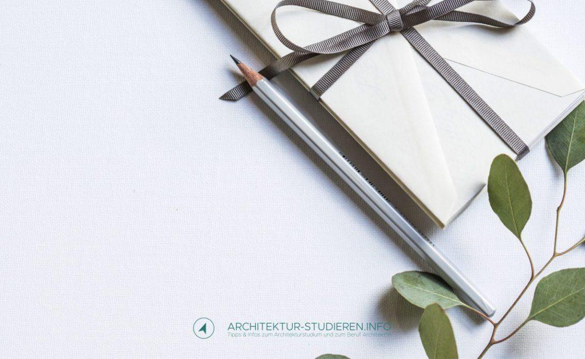 Geburtstag oder Weihnachten? Geschenk für Architekturstudent*innen | Studienführer Architektur, Architektur-studieren.info