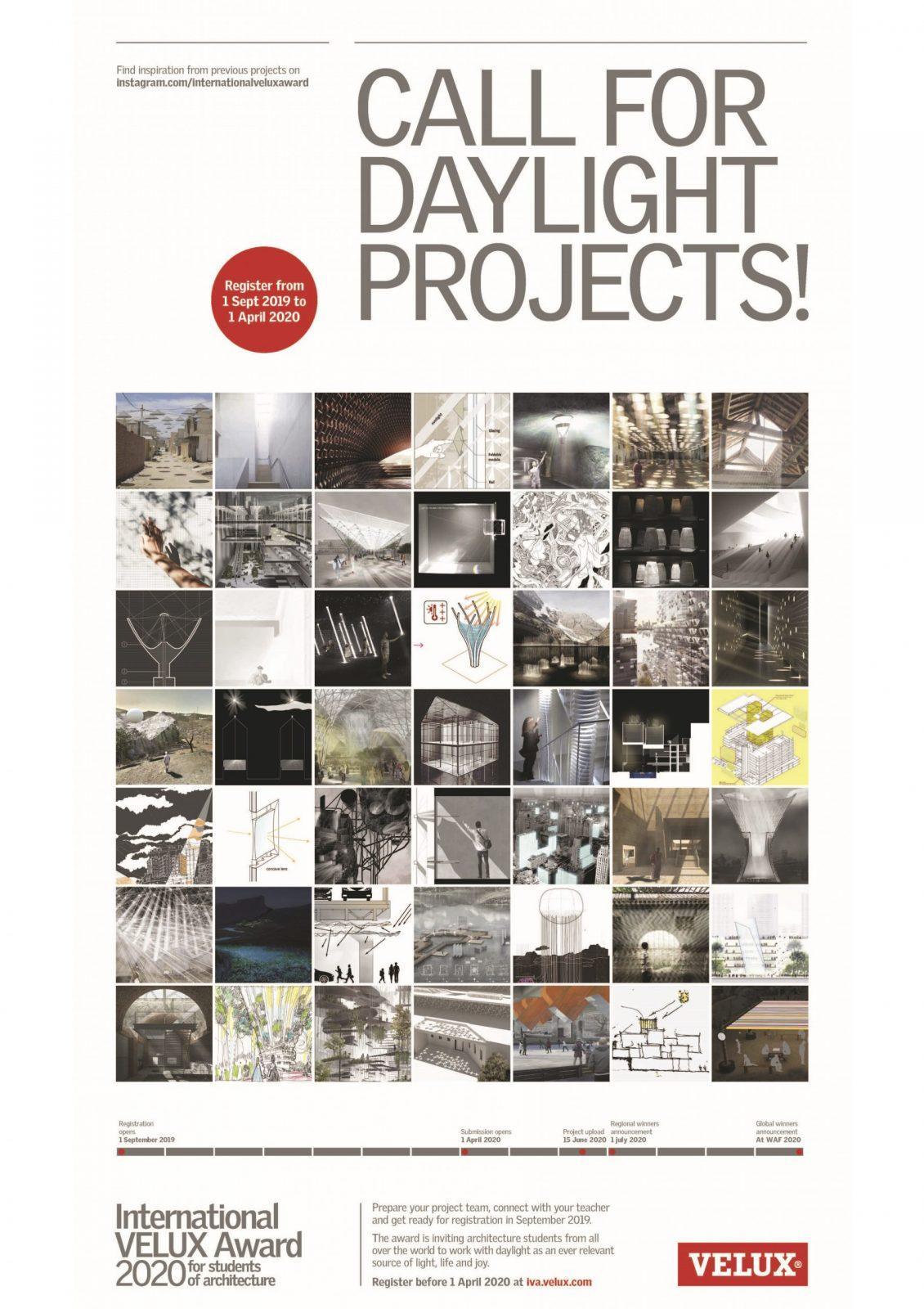 Wettbewerb für Architektur-Student*innen: International VELUX Award 2020