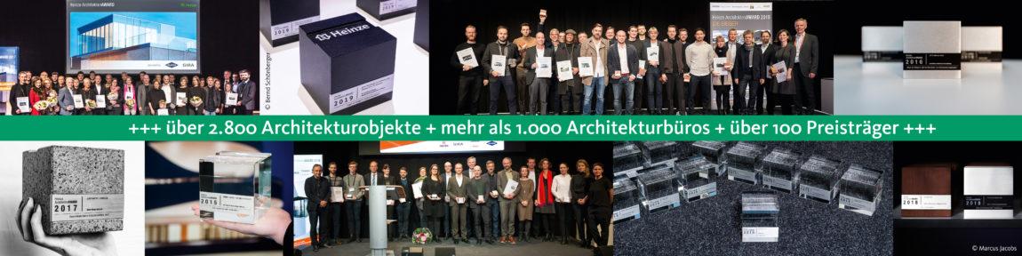 10. Jubiläum Heinze ArchitektenAWARD | © Heinze GmbH