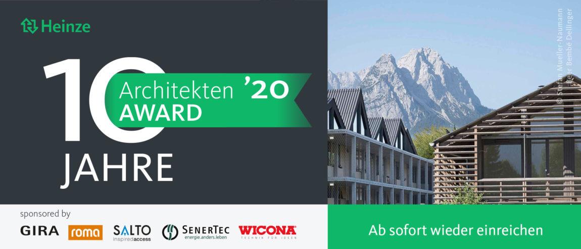 Wettbewerb Architektur-Student*innen: Nachwuchspreis Heinze ArchitektenAWARD 2020 | © Heinze GmbH, vorgestellt auf Architektur-studieren.info