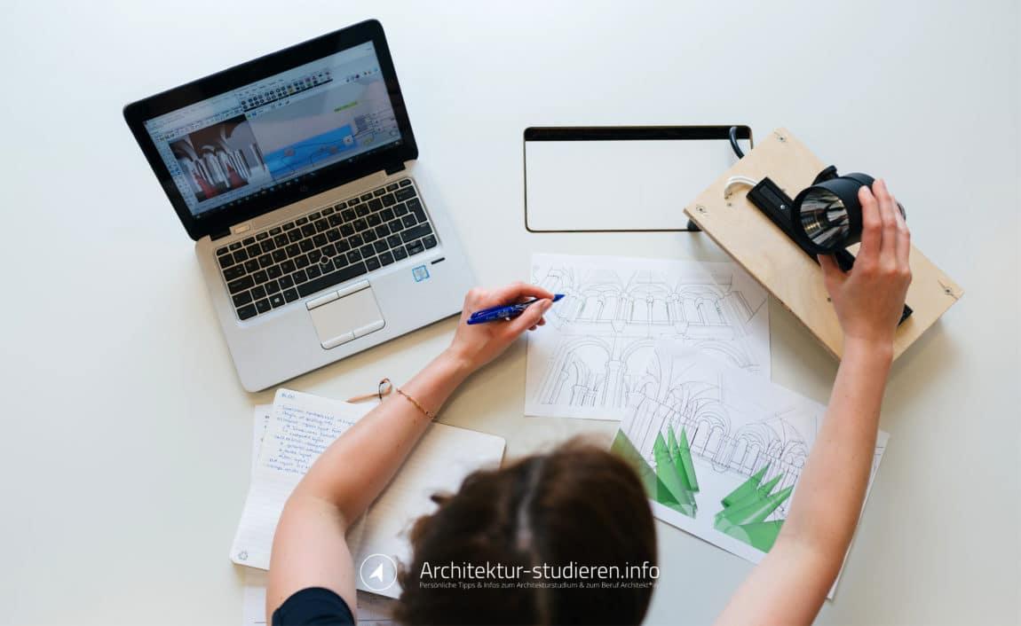 Vorbereitung Architekturstudium: Physik | © Architektur-studieren.info