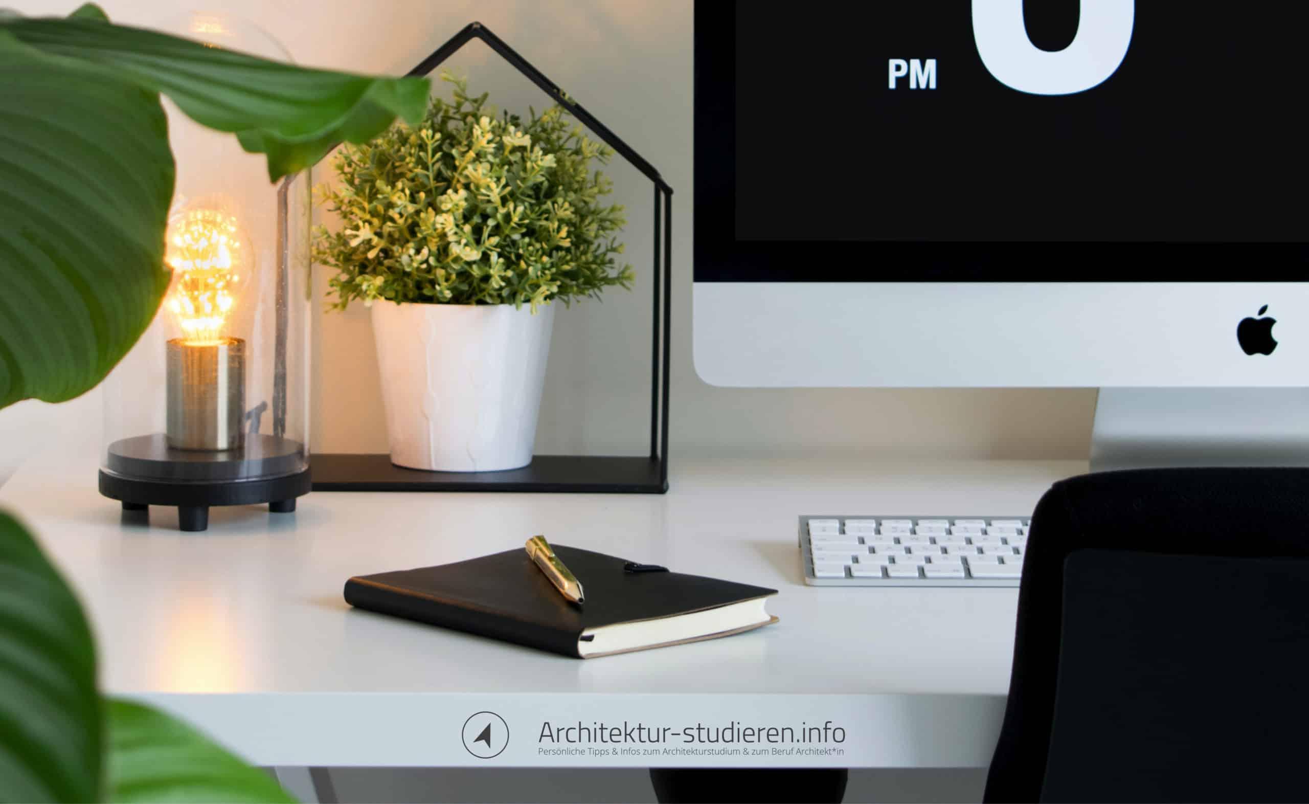 Architektur studieren im Home-Office: Einrichtung deines komfortablen Arbeitsplatzes | Anett Ring, Architektur-studieren.info