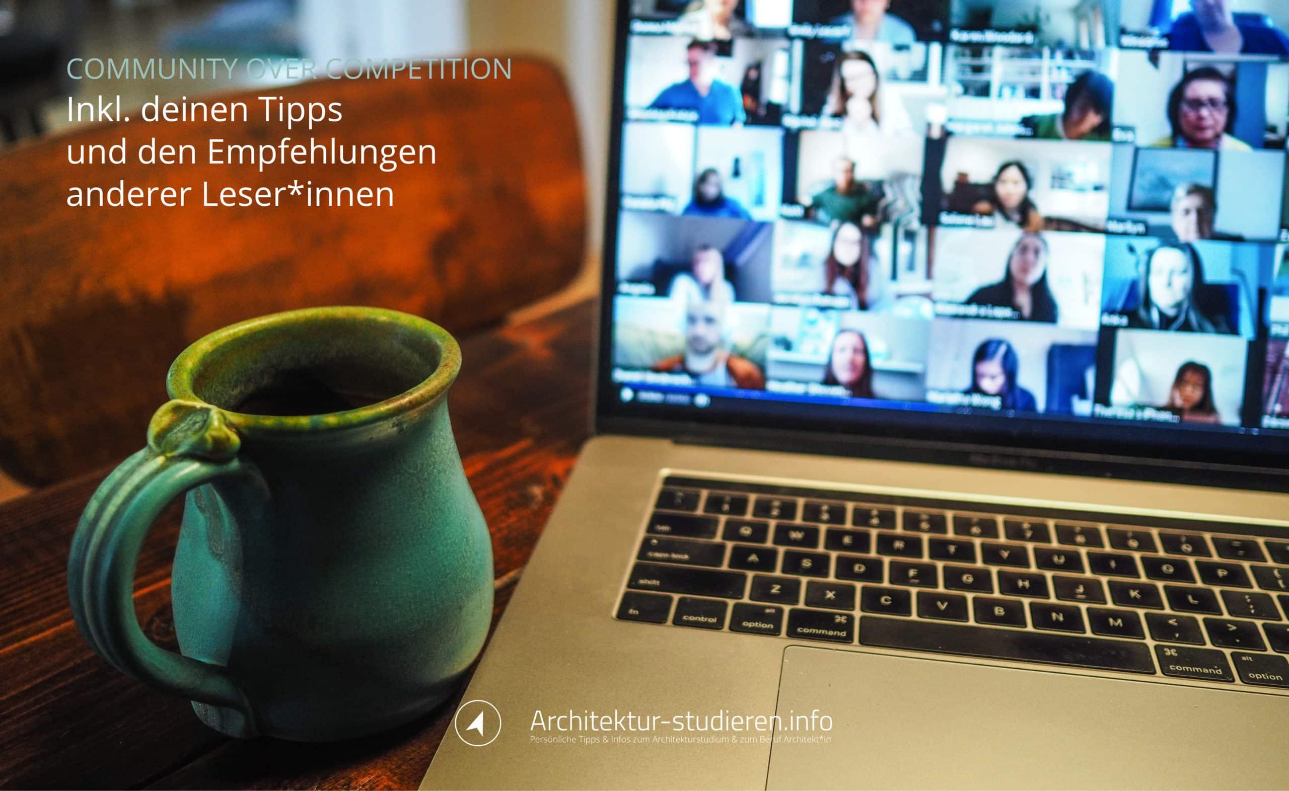 Architektur studieren: Erfolgreiche Gruppenarbeit Online-Semester | Anett Ring, Architektur-studieren.info