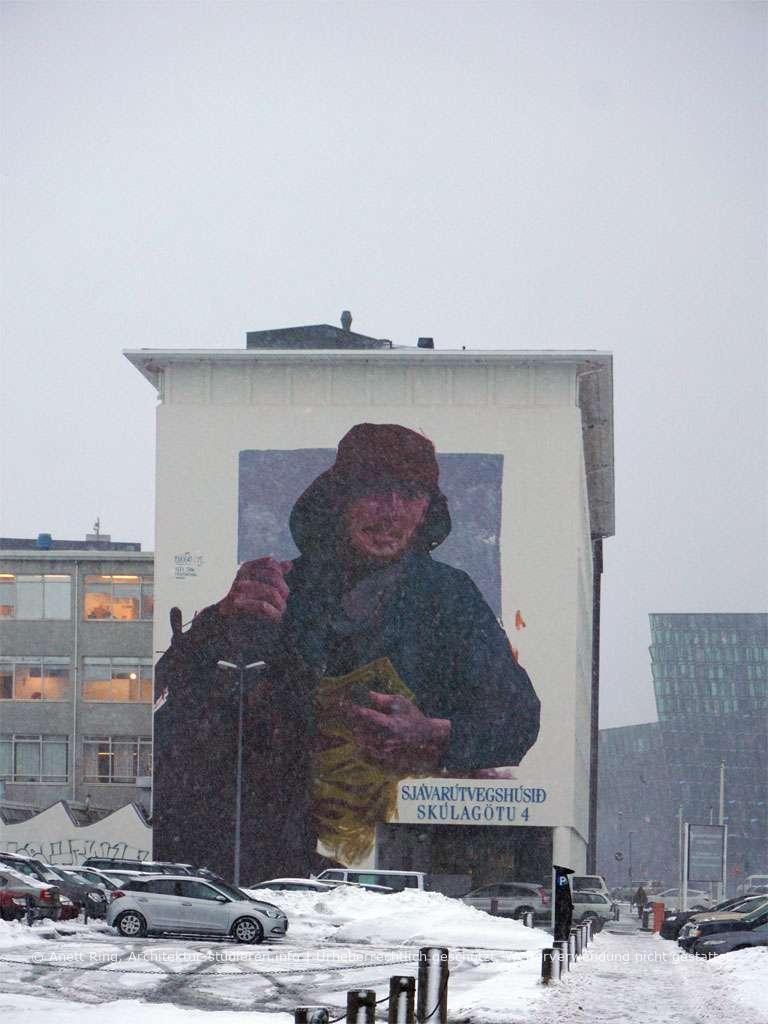 Street-Art in Reykjavík von Evoca1 | © Anett Ring, Architektur-studieren.info und Stadtsatz.de [Urheberrechtlich geschütztes Werk. Weiterverwendung nicht gestattet.]