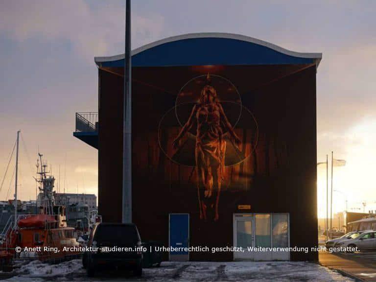 Street-Art in Reykjavík von Tankpetrol | © Anett Ring, Architektur-studieren.info und Stadtsatz.de [Urheberrechtlich geschütztes Werk. Weiterverwendung nicht gestattet.]