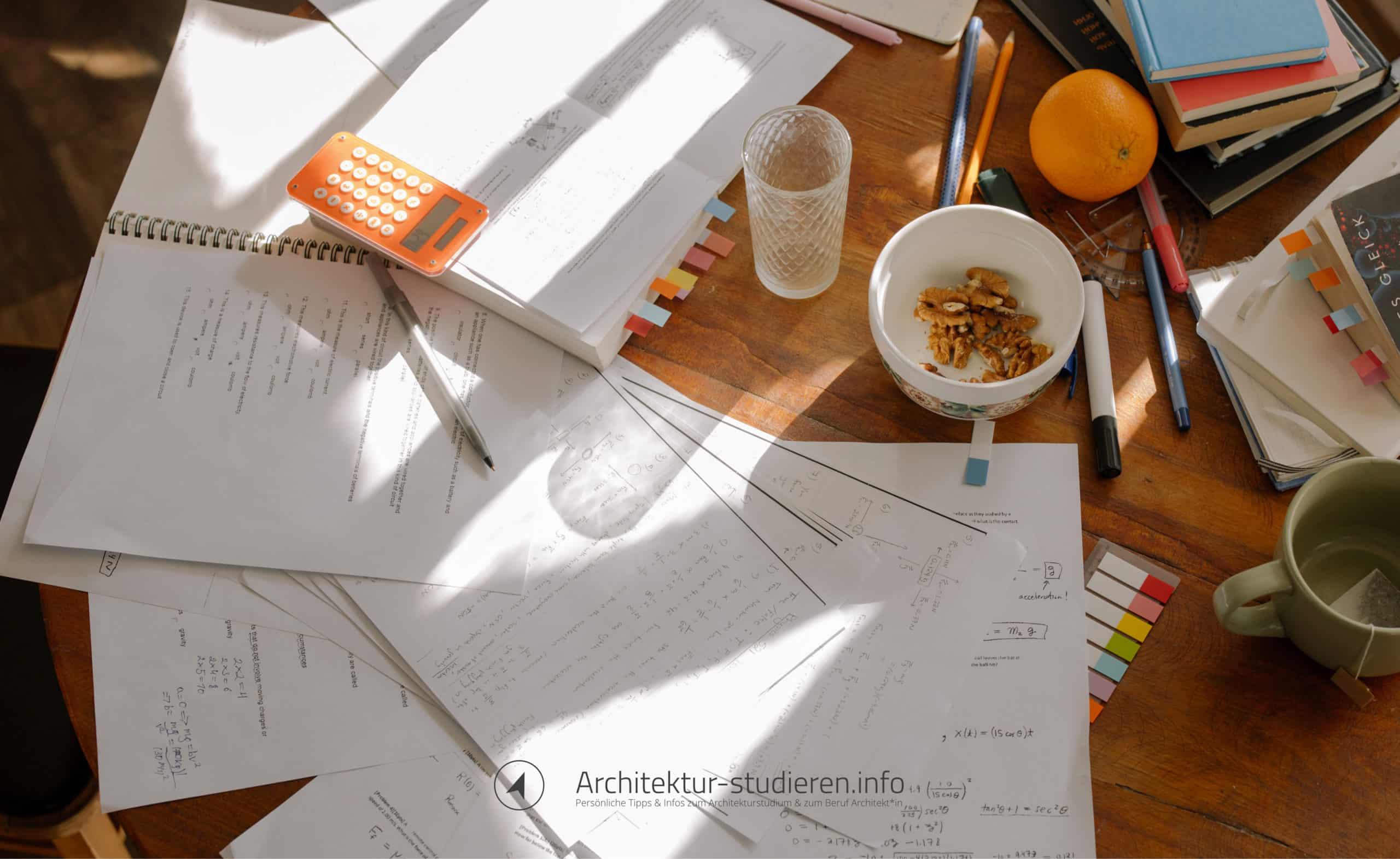 Effektive Last Minute Prüfungsvorbereitung im Architekturstudium | Anett Ring, Architektur-studieren.info
