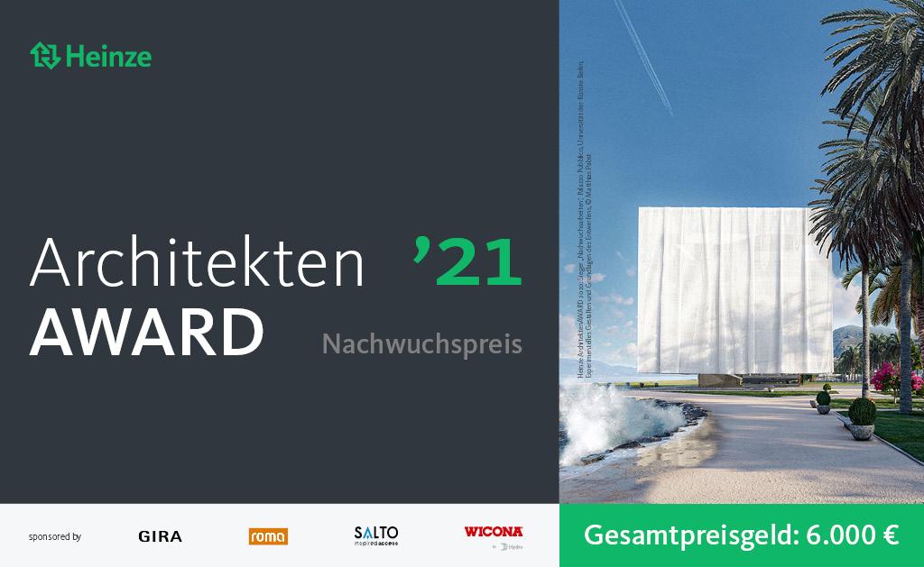 Wettbewerb Architektur-Student*innen: Sonderpreis Heinze ArchitektenAWARD 2021 | © Heinze GmbH, vorgestellt auf Architektur-studieren.info