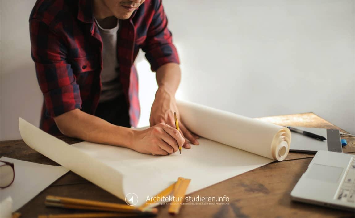 Architekt*in Gehalt und Berufsaussichten | Zuverlässige Informationen zum Architekturstudium und zum Beruf Architekt*in | © Anett Ring, Architektur-studieren.info