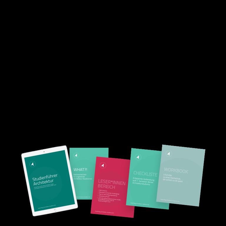 Nur im September: Angebot Studienführer Architektur im Premium-Paket | © Anett Ring, Architektur-studieren.info