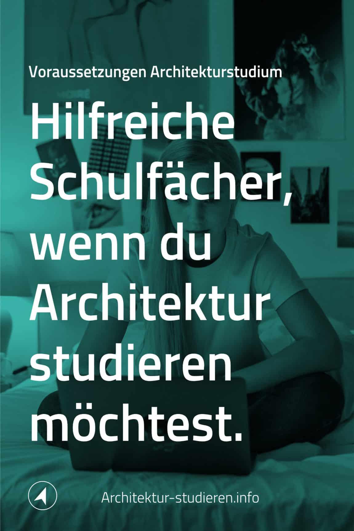 Voraussetzungen Architektur-Studium: Wichtige Schulfächer, die du in der Oberstufe belegen solltest | © Anett Ring, Architektur-studieren.info